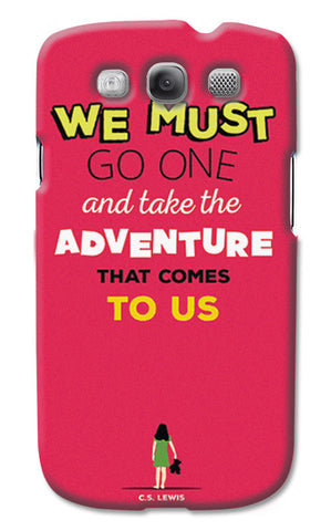 Adventures Narnia Typography | Samsung Galaxy S3 Cases