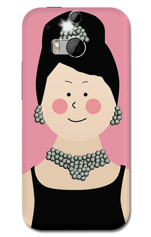 Audrey Hepburn Breakfast At Tiffany | HTC One M8 Cases