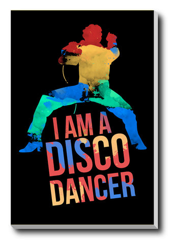 Canvas Art Prints, Disco Dancer Stretched Canvas Print, - PosterGully - 1