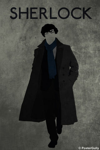PosterGully Specials, Sherlock Minimal Overcoat, - PosterGully