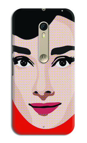 Audrey Hepburn Pop Art | Moto X Style Cases