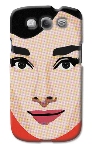 Audrey Hepburn Pop Art | Samsung Galaxy S3 Cases
