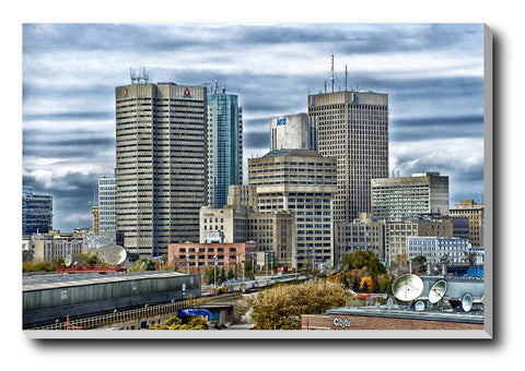 Canvas Art Prints, Northern Country Stretched Canvas Print, - PosterGully - 1