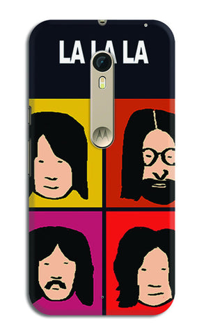 Beatles La La La Pop Art | Moto X Style Cases