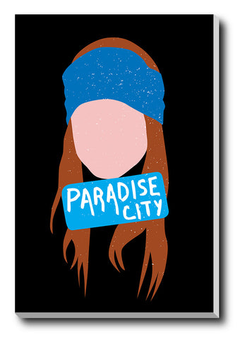 Canvas Art Prints, Axl Rose Paradise City Stretched Canvas Print, - PosterGully - 1