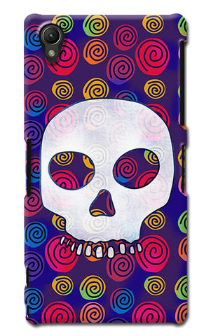 Candy Skull Artwork | Sony Xperia Z1 (L39h) Cases