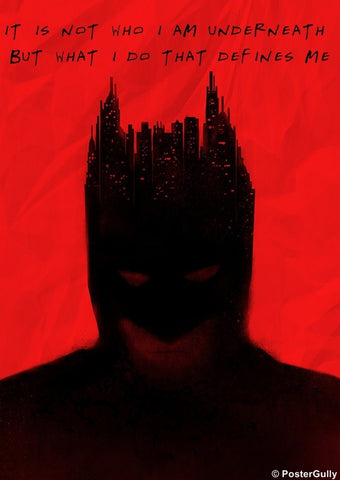 Wall Art, The Dark Knight | Defines Me, - PosterGully