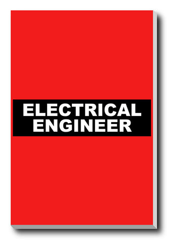 Canvas Art Prints, Electrical Engineer Stretched Canvas Print, - PosterGully - 1