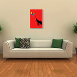 Canvas Art Prints, Elephant And Baloons Stretched Canvas Print, - PosterGully - 3