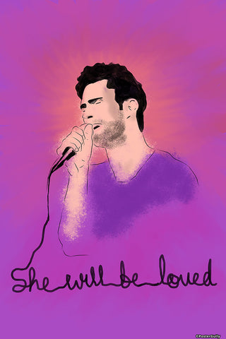 Wall Art, Adam Levine Maroon 5, - PosterGully - 1