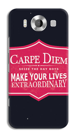 Carpe Diem Dead Poets Society | Nokia Lumia 950 Cases