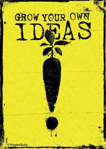 Wall Art, Grow Your Own Ideas, - PosterGully