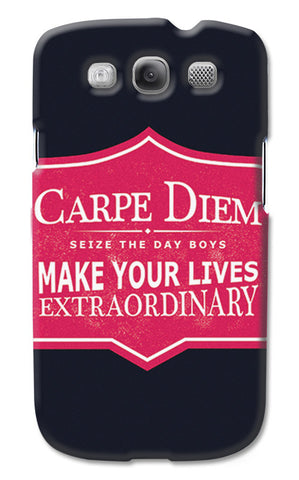 Carpe Diem Dead Poets Society | Samsung Galaxy S3 Cases