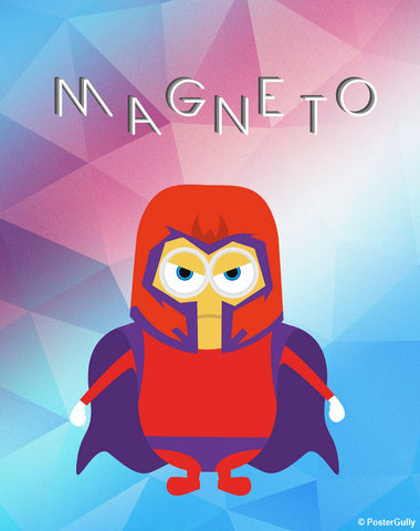 Brand New Designs, Magneto Wallpaper Artwork | Artist: Akshay Kamble, - PosterGully - 1