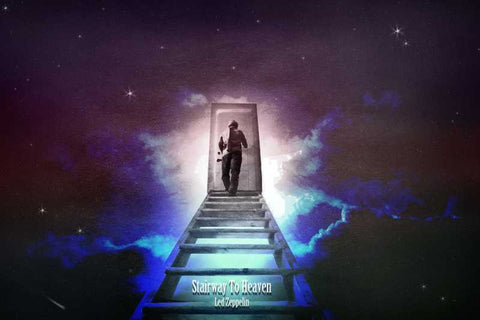 Wall Art, Stairway To Heaven Artwork  | Artist: Athul Menon, - PosterGully