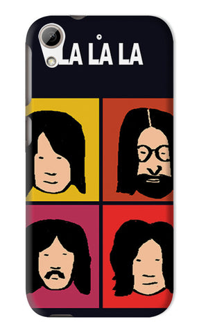 Beatles La La La Pop Art | HTC Desire 626 Cases