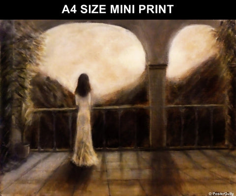 Mini Prints, Solitude | By Masaad Amoodi | Mini Print, - PosterGully