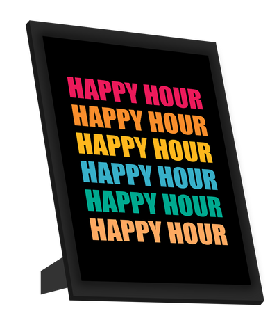 Framed Art, Happy Hour Framed Art, - PosterGully