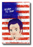 Brand New Designs, Born To Run Bruce Sprinsteen Artwork, - PosterGully - 3