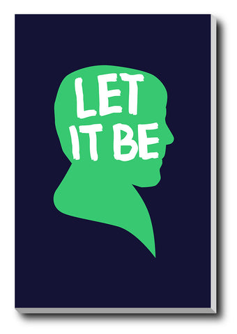 Canvas Art Prints, Let It Be Paul Stretched Canvas Print, - PosterGully - 1