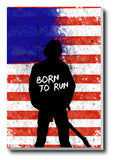Brand New Designs, Born To Run Bruce Sprinsteen Back, - PosterGully - 3