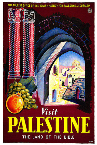 Wall Art, Palastine Land Of Bible, - PosterGully