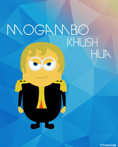 Brand New Designs, Mogambo Wallpaper Artwork | Artist: Akshay Kamble, - PosterGully - 1
