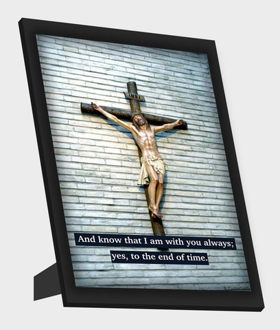 Framed Art, Christ With You Framed Art, - PosterGully