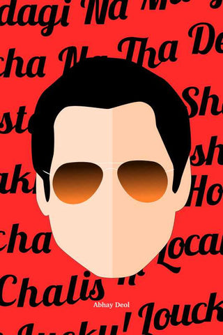 Abhay Deol Pop Art |  PosterGully Specials