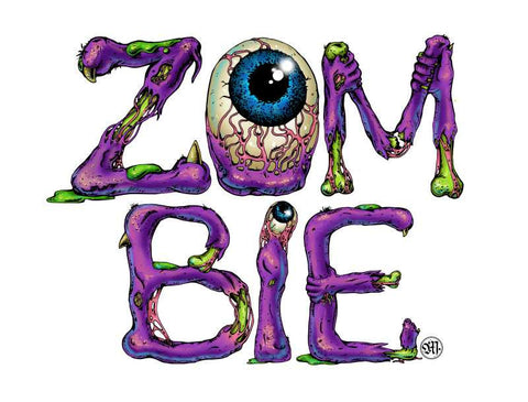 Brand New Designs, Zombie Artwork  | Artist: Monisha Miriam, - PosterGully