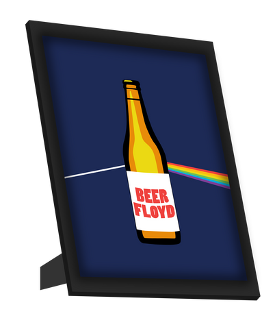 Framed Art, Beer Floyd | Pink Floyd Humour Framed Art, - PosterGully