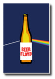 Canvas Art Prints, Beer Floyd Stretched Canvas Print, - PosterGully - 1