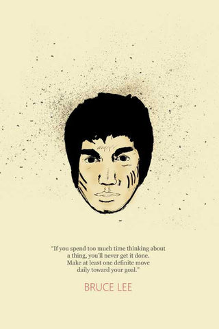Bruce Lee Goal Poster |  PosterGully Specials