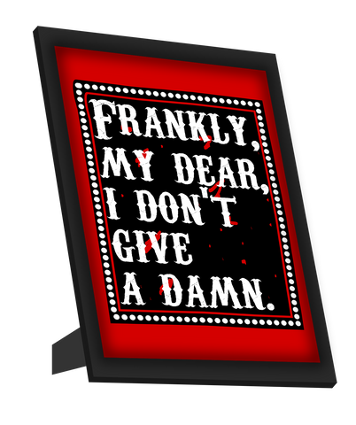 Framed Art, Frankie My Dear | Gone With The Wind Framed Art, - PosterGully
