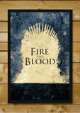 Wall Art, Game Of Thrones Fire And Blood, - PosterGully - 2