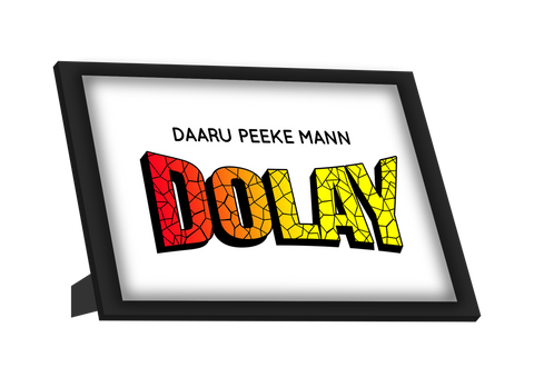 Framed Art, Mann Doley Humour Framed Art, - PosterGully