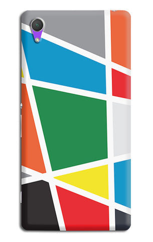 Abstract Colorful Shapes | Sony Xperia Z2 (L39t, L50w, D6503) Cases