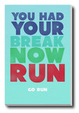 Wall Art, GO RUN, - PosterGully - 3