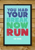 Wall Art, GO RUN, - PosterGully - 2