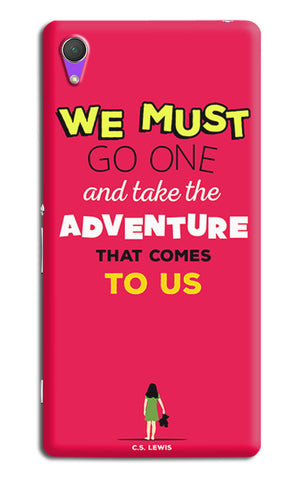 Adventures Narnia Typography | Sony Xperia Z2 (L39t, L50w, D6503) Cases