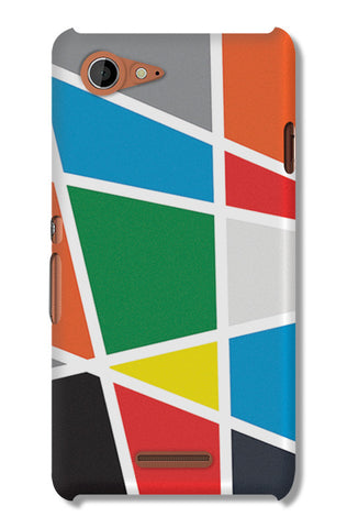 Abstract Colorful Shapes | Sony Xperia E3 Cases