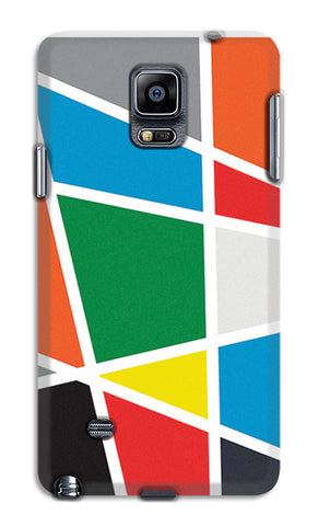 Abstract Colorful Shapes | Samsung Galaxy Note 4 Cases