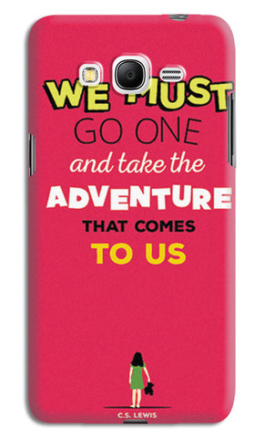 Adventures Narnia Typography | Samsung Galaxy Grand Prime Cases