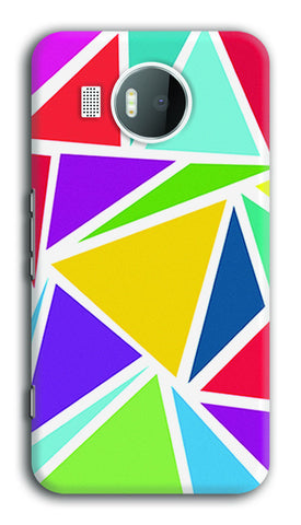 Abstract Colorful Triangles | Nokia Lumia 950 XL Cases