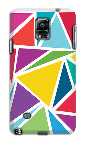 Abstract Colorful Triangles | Samsung Galaxy Note 4 Cases