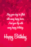 Brand New Designs, Happy Birthday Red, - PosterGully - 1
