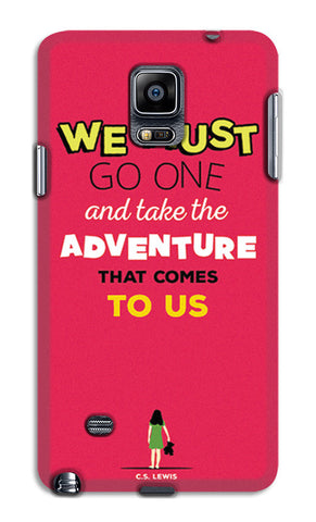 Adventures Narnia Typography | Samsung Galaxy Note 4 Cases