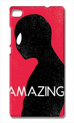 Amazing Spiderman Minimal | Huawei P8 Cases