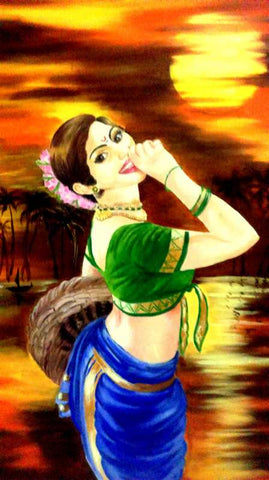 Wall Art, Beauty Painting Artwork | Artist: Gauri Chitre, - PosterGully