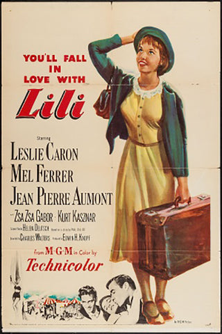 Wall Art, Lili | Retro Movie Poster, - PosterGully - 1